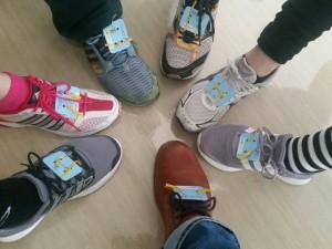 神戸ラブラン集合靴