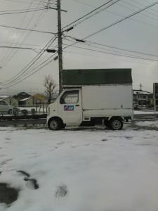 東近江市雪